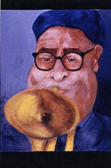 Dizzy Gillespie par TQ